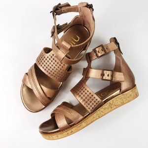 [NICOLE] Janna Strappy Leather Sandals NEW
